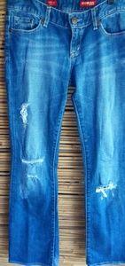 Express Distressed Jeans Sz 0